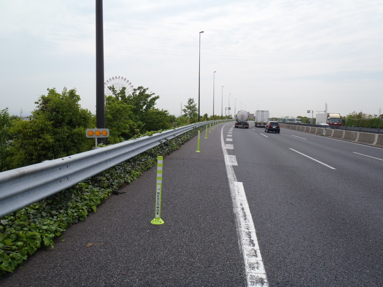 NEXCO中日本  第二東名高速道路 駐車禁止