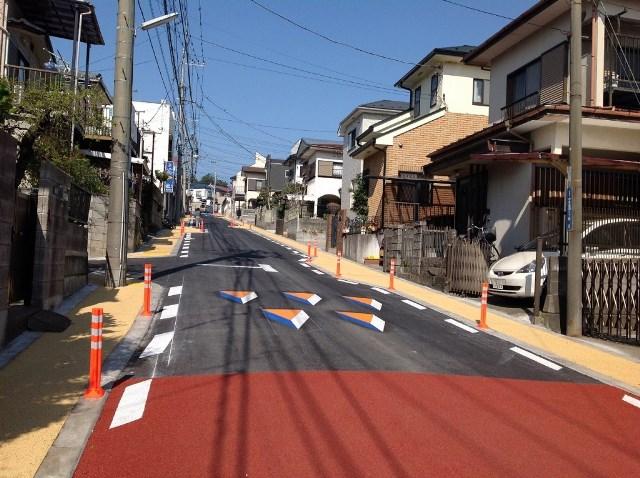 神奈川県 綾瀬市 歩車分離対策