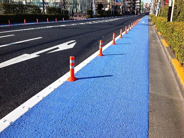 東京都 足立区 自転車専用道路